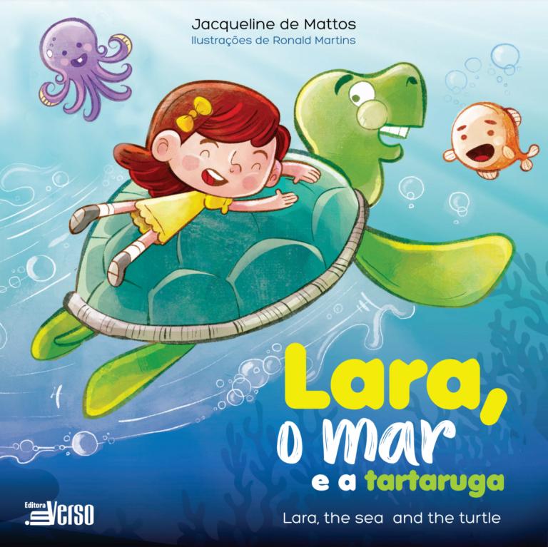 Lara o mar e a tartaruga